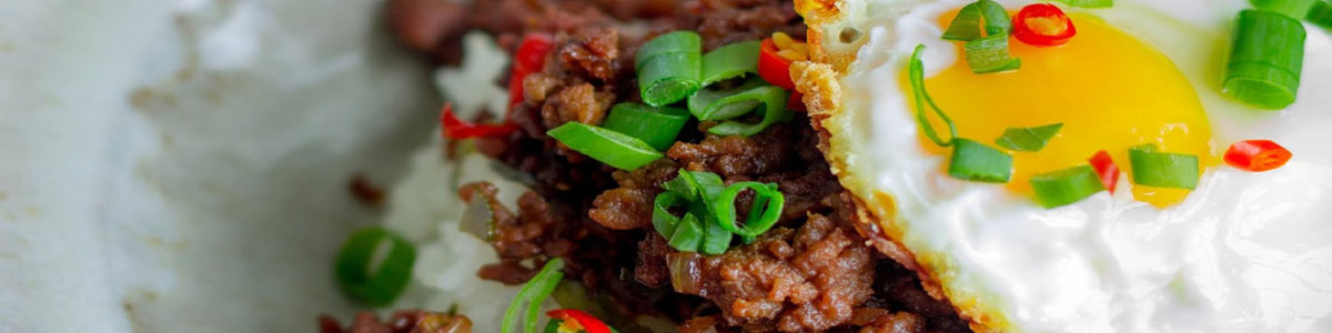Thai spicy basil beef
